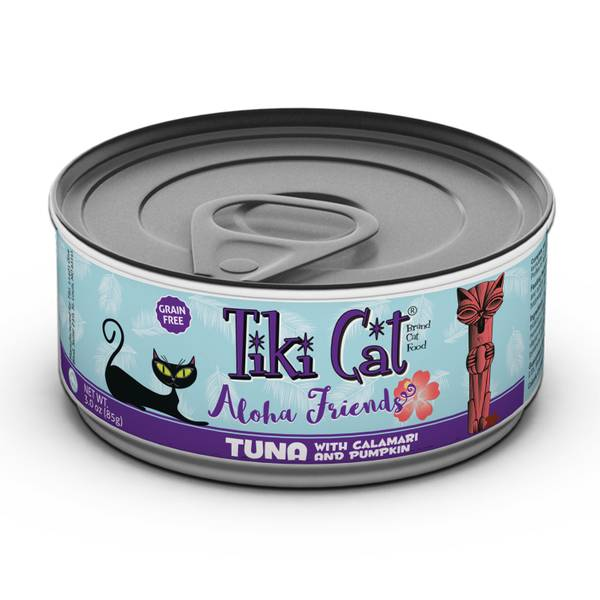 Aloha Friends Tuna with Calamari & Pumpkin Cat Food