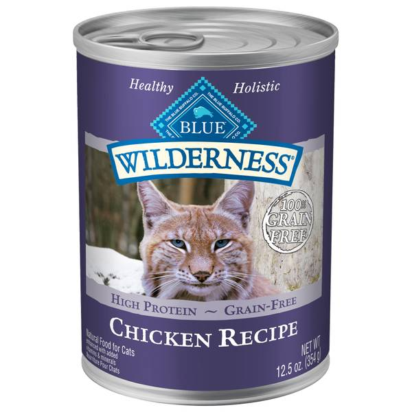 Adult Chicken Flavored Cat Food
