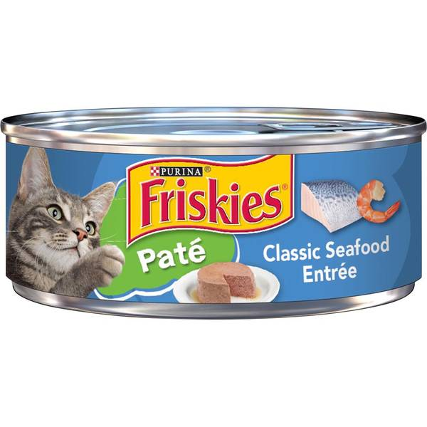 Classic Pate Seafood Entree Cat Food