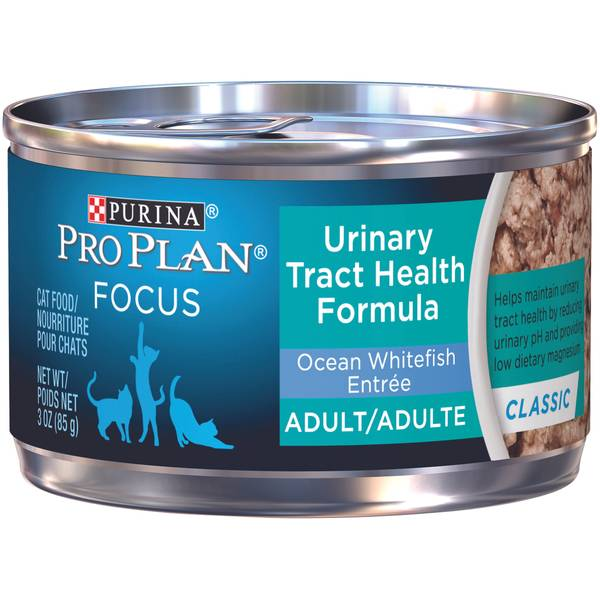 Focus Urinary Tract Health Ocean Whitefish Entree Adult Wet Cat Food