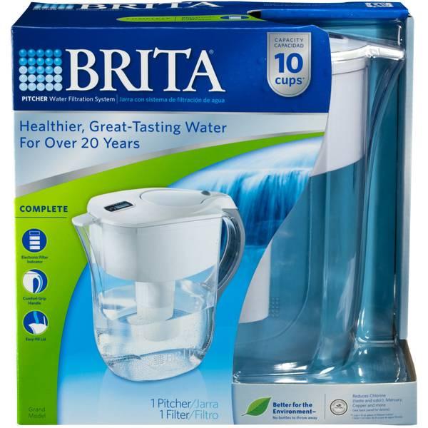 brita grand pitcher water filter. Black Bedroom Furniture Sets. Home Design Ideas
