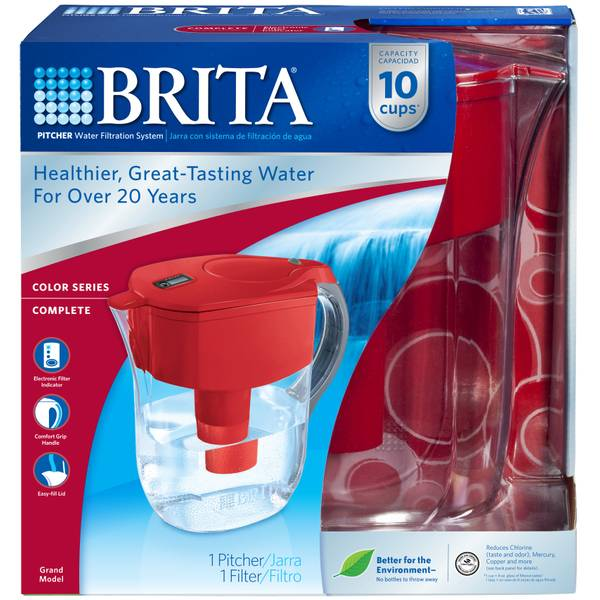 Brita Grand Water Filter Pitcher