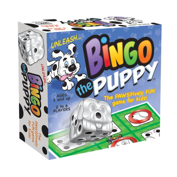 Bingo The Puppy Board Game