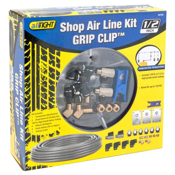 Grip Clip Shop Air Line Kit