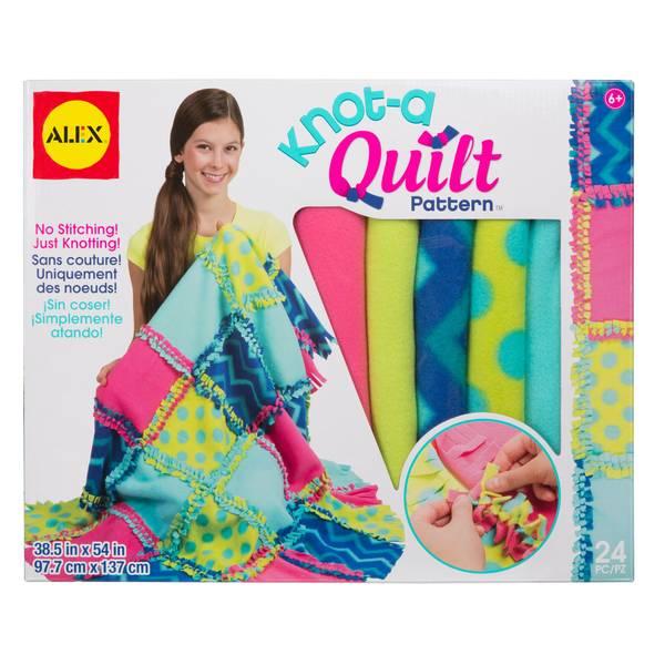 DIY Knot-A-Quilt Pattern