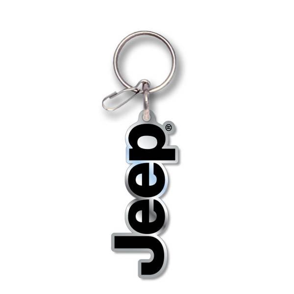 Jeep Logo Enamel Key Chain