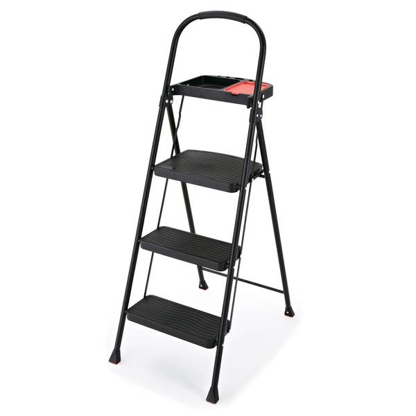 Rubbermaid 3 Step Stool With Tray
