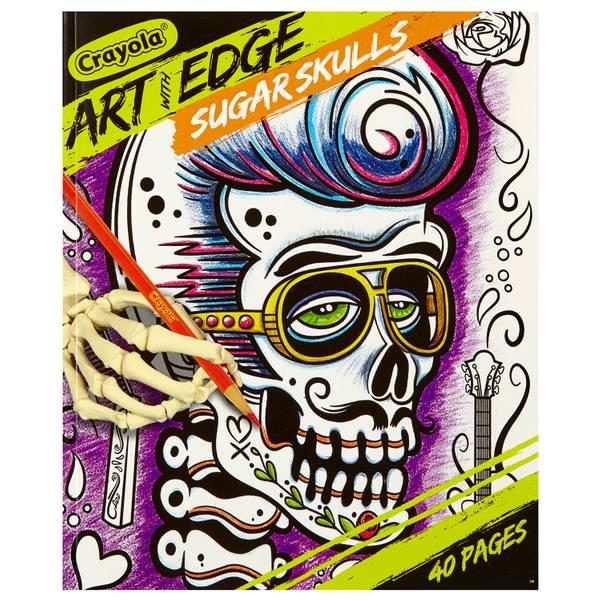 Crayola Art With Edge Sugar Skulls Coloring Pages