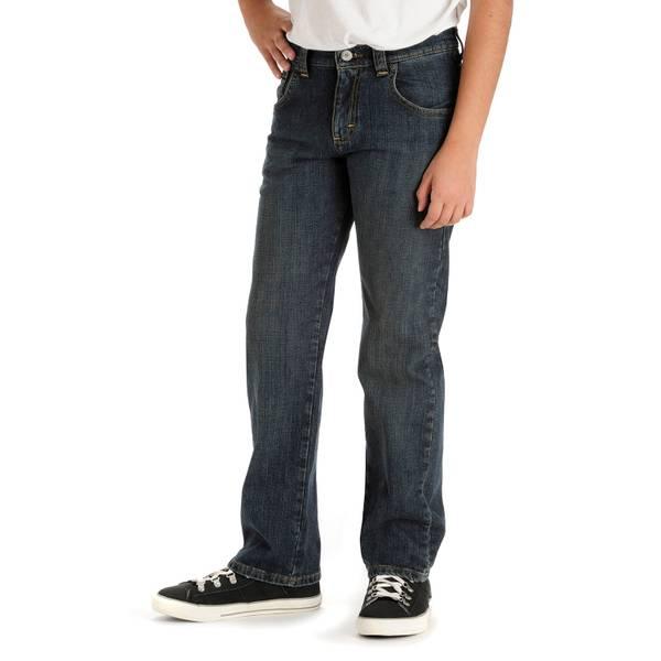Boys' Slim Fit Handsand Jean