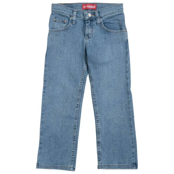 Boys'  Handsand Regular Fit Straight Leg Jeans
