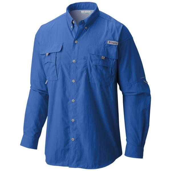 b1f8fe2b522 Columbia Men's Long Sleeve Bahama Fishing Shirt
