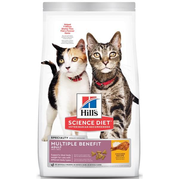 7 lb Adult Multiple Benefit Cat Food