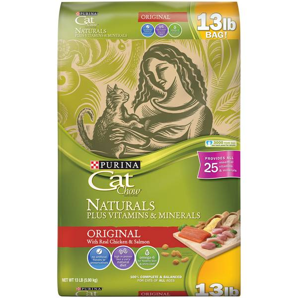 Cat Chow Naturals Cat Food