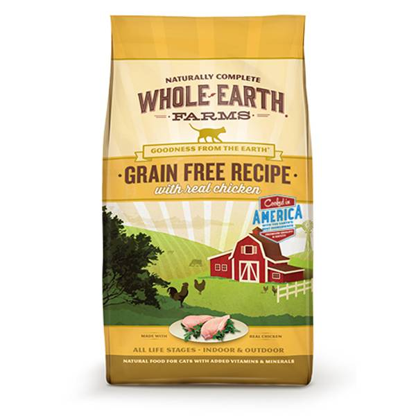 5 lb Grain Free Real Chicken Cat Food