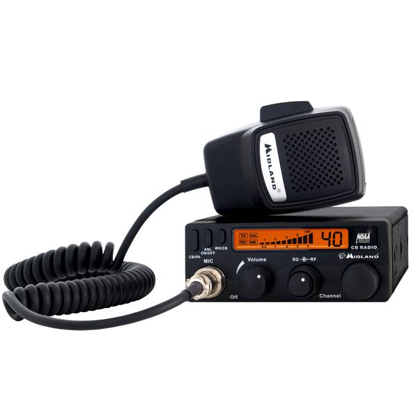 40-Channel Mobile CB Radio