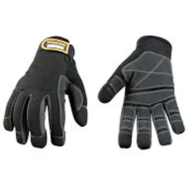 Men's Black Touch Screen Utility Glove