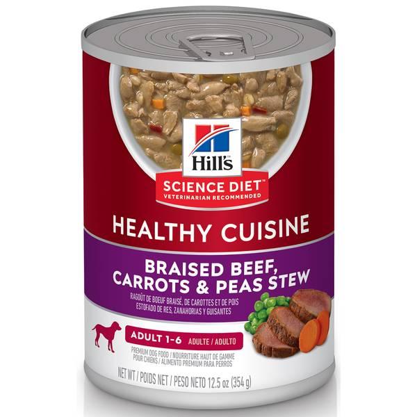 12.5 oz Adult Healthy Cuisine Dog Food
