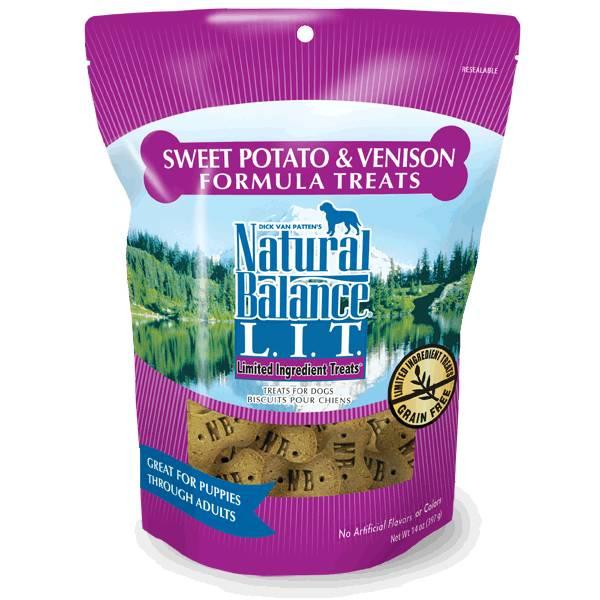 LIT Sweet Potato & Venison Dog Treats