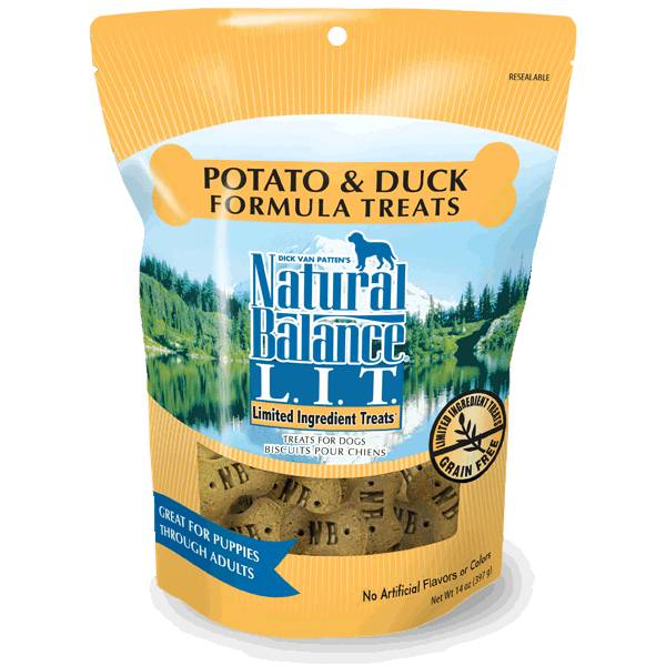 LIT Potato & Duck Dog Treats