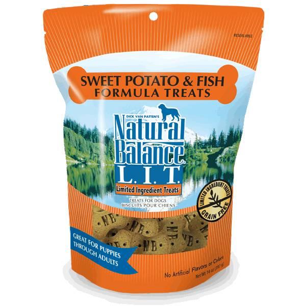 LIT Sweet Potato & Fish Dog Treats