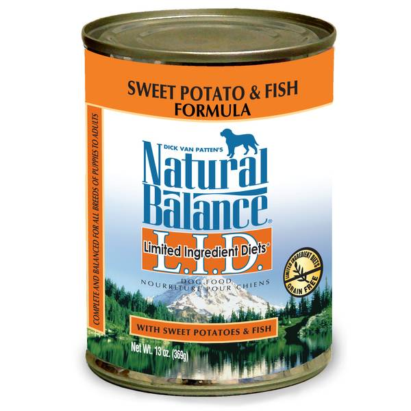 L.I.D. Fish & Sweet Potato Canned Dog Food