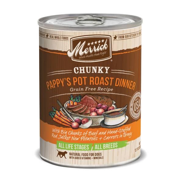 12.7 oz Pot Roast Chunky Dinner Dog Food