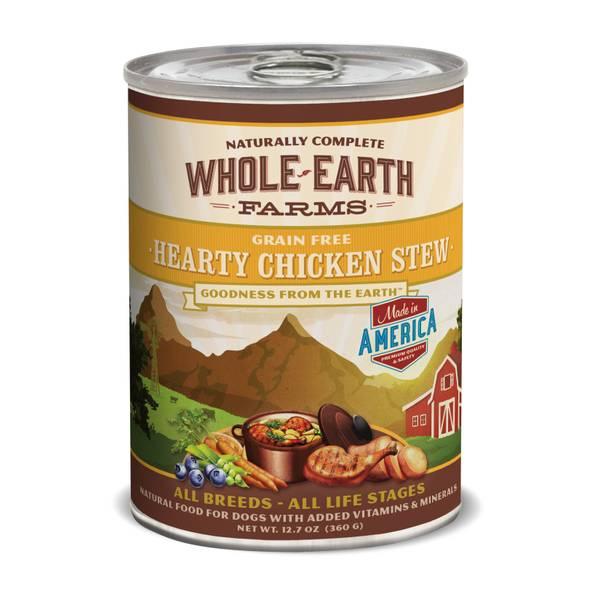 12.7 oz Grain Free Hearty Chicken Stew Dog Food