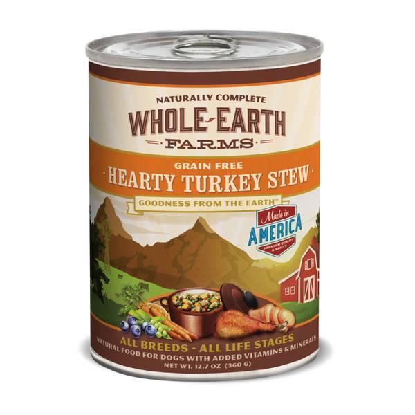 12.7 oz Grain Free Hearty Turkey Stew Dog Food