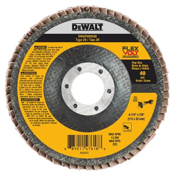 FLEXVOLT Flap Disc