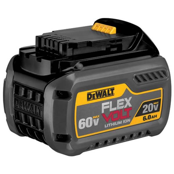 Dewalt Flexvolt 20 60v Max Battery Pack 6 0ah